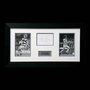Stan Bowles autograph, Framed