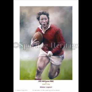 JPR Williams MBE - Wales Legend