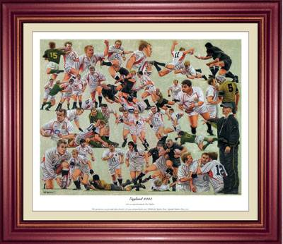 'England 2003 Rugby World Cup Winners'