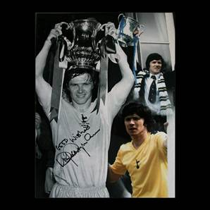 Steve Perryman signed spurs montage print