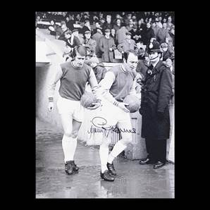 Jimmy Greaves Personally Signed 16x12 Photo - West Ham