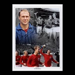 Ray Wilson Personally Signed Autographed Photo - England 1966 World Cup Winner