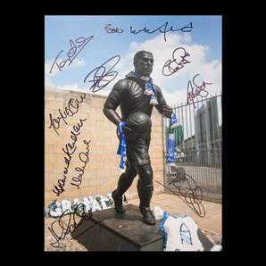 Everton Legends Signed Photo