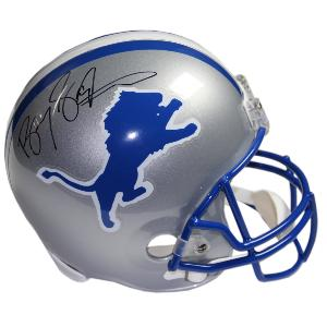 Barry Sanders Signed Detroit Lions Full-Size Authentic Helmet