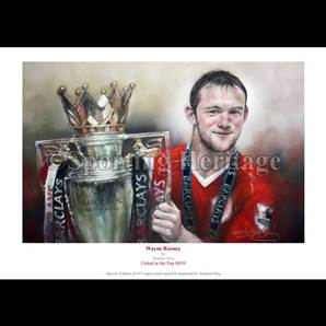 Wayne Rooney - United at the Top 08/09