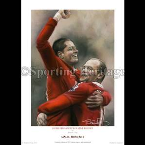 Javier Hernandez & Wayne Rooney - Magic Moments