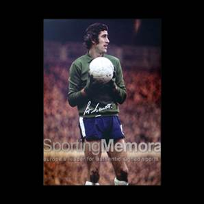 Peter Bonetti signed Chelsea print - Chelsea Number One
