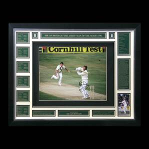 Sir Ian Botham Personally Signed photo - The Miracle Of Headingley, Framed