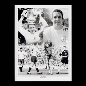 Dave Mackay Personally Signed Tottenham Hotspur Photo