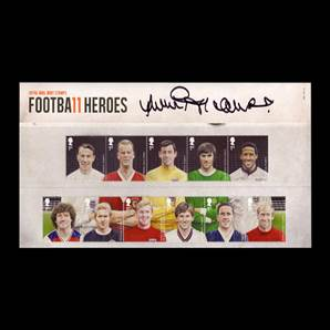 Football Heroes 2013 Football Presentation Pack Personally Signed By Jimmy Greaves