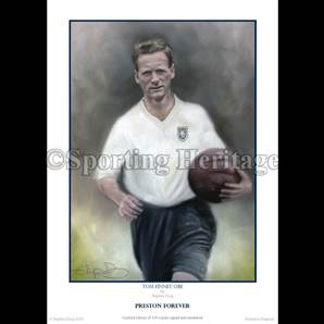 Tom Finney OBE - Preston Forever