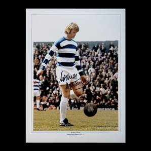 Rodney Marsh Personally Signed QPR photo montage
