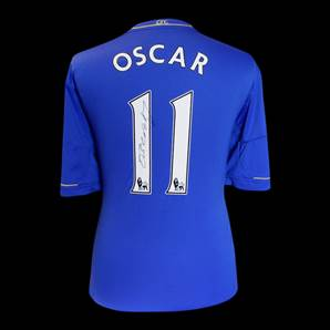 Oscar Personally Signed Chelsea Shirt - Number 11