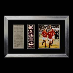 Ray Wilson Signed & Framed Film Cell Presentation