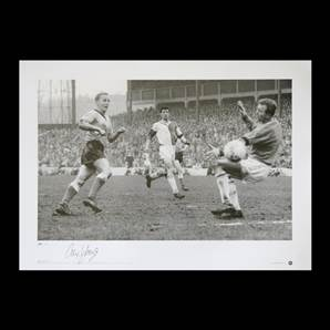 The Golden Vision - signed by Alex Young