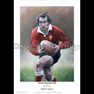 Gareth Edwards CBE - Wales Legend