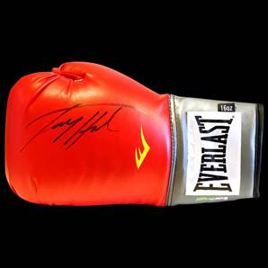 Larry Holmes Signed Boxing Glove - Everlast