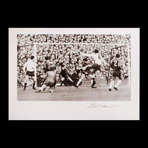 Jimmy Greaves Personally Signed Tottenham Print - Number 8