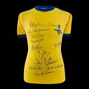 Multi Signed Arsenal 1971 FA Cup Winners Shirt