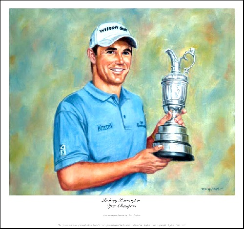 Padraig Harrington: Open Champion