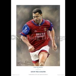 Paul McGrath - Aston Villa Legend