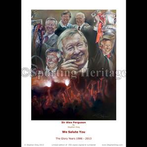 Sir Alex Ferguson - We Salute You