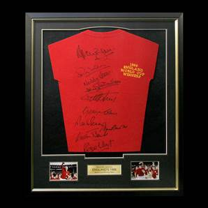 England 1966 Framed World Cup Winners 10 signatures