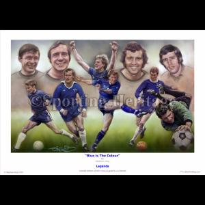 Legends - 'Blue is The Colour'
