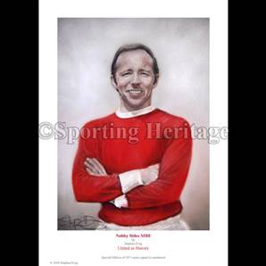 Nobby Stiles MBE - United in History
