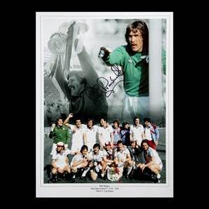 Phil Parkes Personally Signed West Ham photo montage print