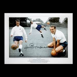 Jimmy Greaves Personally Signed Photo - Tottenham Hotspur Legend