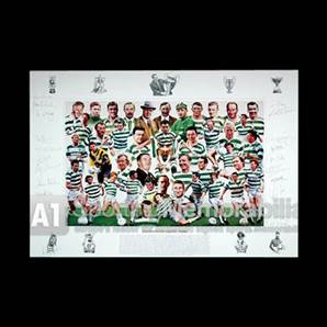 Legends of Celtic Park - Signed by 22 Celtic Legends