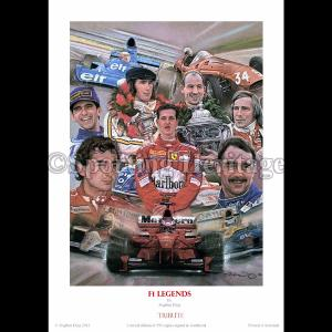 F1 Legends - Tribute