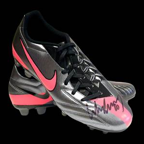 Wayne Rooney Autograph Signed Football Boot - Nike T90