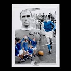 Ray Wilson Personally Signed Autographed Photo - Everton Legend