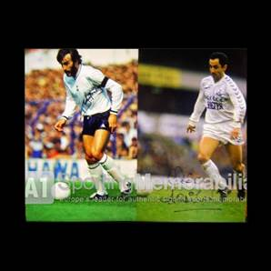 Ricky Villa and Ossie Ardiles signed Spurs print - The Tremendous Two