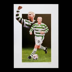 Celtic print Personally Signed by Neil Lennon