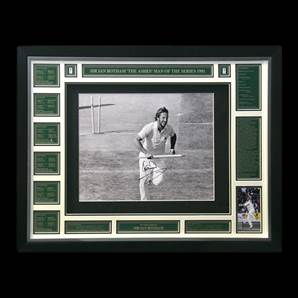 Sir Ian Botham Personally Signed photo - England Cricket Legend, Framed