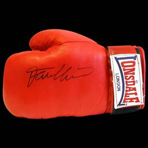 Frank Bruno Autographed Lonsdale Boxing Glove