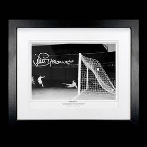Jimmy Greaves Personally Signed Tottenham Hotspur Photo - 1963 Cup Winners' Cup Final, framed