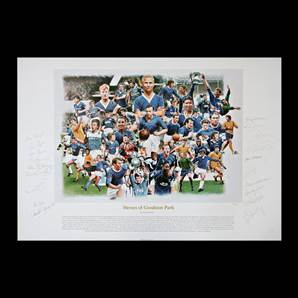 Heroes of Goodison Park - Signed by 19 Everton Legends