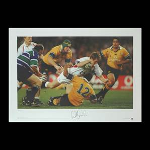 Will Greenwood signed print - Centre of Excellence