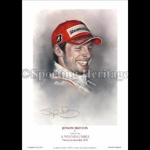 Jenson Button - A Winning Smile