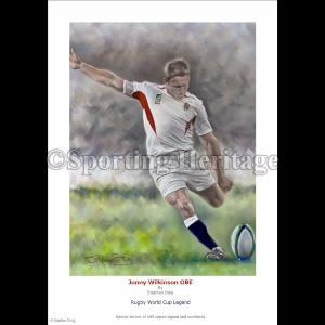 Jonny Wilkinson OBE - Rugby World Cup Legend