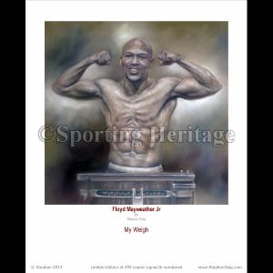 Floyd Mayweather Jr - My Weigh