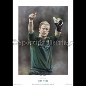 Joe Hart - City No.25