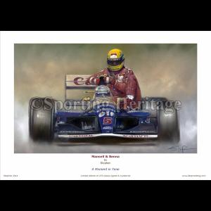 Mansell & Senna - A Moment in Time