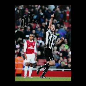 Andy Carroll signed Newcastle photo - No. 9
