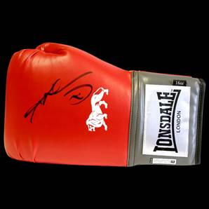 Sugar Ray Leonard Personally Signed Boxing Glove - Lonsdale