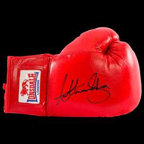 Anthony Joshua Signed Boxing Glove - Lonsdale